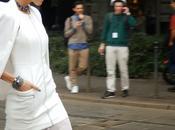 Arco della Pace outside Roberto Cavalli fashionshow Street style