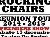 Zoppo... perde reunion tour 2014-2015 Rocking Chairs!