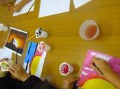 Pittura laboratorio Creatività Scuolorando, Dopo...