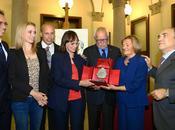 """MILANO. Grande festeggiamenti Premio """"Emilio Aldo Martino"""" consegnato alla famiglia Ottoz rispetto dell'etica sportiva."""