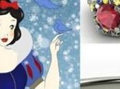 Anelli fidanzamento sogno. Ispirazione: Principesse Disney