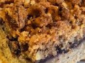 Coffee cake mirtilli