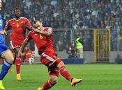 Bosnia-Belgio 1-1: gran partita Zenica, Dzeko risponde Nainggolan