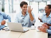 Lavoro: colleghi unione forza: collaborare impara