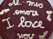 Torta cioccolato: dedica vostri amori