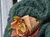 #fioridivenerdì fare rosa foglie caco