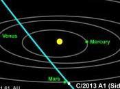 Siding Spring, cometa domenica ottobre 2014 passerà vicino Marte