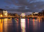 magia delle luci all'Amsterdam Light Festival