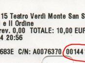 """Progetto Tandem: nuovo biglietto omaggio nozze Figaro"""""""