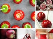 Candy apples Halloween Mele stregate