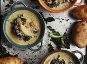 Zuppa ceci riscaldare l'autunno