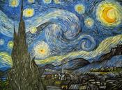 Notte stellata, gogh, tela 60x70