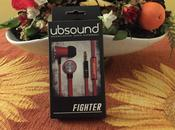 Ubsound Fighter, auricolari grande qualità smartphone tablet -Made Italy-