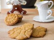 Biscotti zucca nocciole.. Happy Halloween!