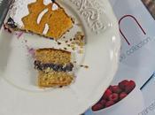 Torta grano saraceno marmellata frutti bosco Cake with buckwheat flour wild fruits