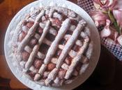 Torta strati marmellata prugne Layer cake with plum
