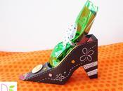 halloween: Scatola Scarpa Strega porta dolci Witch Shoe sweets
