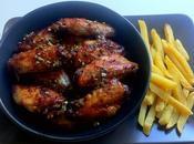 American Food: alette pollo glassate piccanti