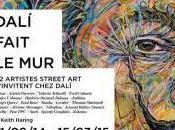 Montmartre, artisti urbani dialogo Salvador Dalì