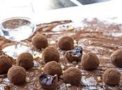 Tartufi cioccolato fondente gocce morbide d'arancia Cointreau