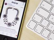 Depop: cinque utenti seguire shopping tramite smartphone
