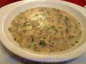 Cream mushroom soup, crema funghi