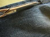 Braccialetto jeans: un'idea riciclare vecchi pantaloni