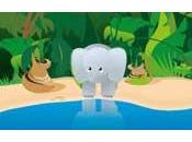 L'elefante proboscide corta
