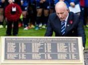 Remembrance Day: Svelata nuova targa Murrayfield ricordare rugbisti caduti nelle guerre mondiali