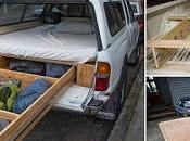 Toyota Tacoma-4runner letto comodo cassetto vestiti valigie.