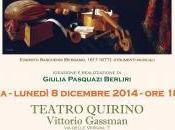MUSICA LIRICA: SUONIAMO ITALIANO, PRELUDI GRANDI MAESTRI-Lunedi' dicembre, 18.30, Teatro Quirino – Vittorio