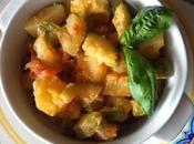 Piatto abruzzese: Zucchine patate (Chicocce patane)