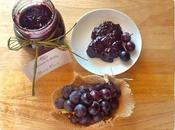 Confettura d'uva Montepulciano D'Abruzzo l'Italia Piatto