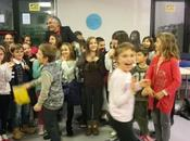 notte biblioteca Anzola. Trenta bambini ascoltano storie Sergio Guastini