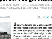 Taglio vitalizi Consiglieri Lazio: molto rumore nulla