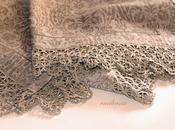 Tovaglia bordo crochet