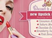"Preview Neve Cosmetics: ""Dessert Lèvres"" cinque nuove ricette labbra"