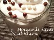 Mousse Castagne Rhum
