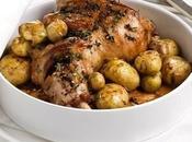 Spalla agnello patate arrosto