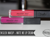 Sleek Makeup Matte Cream (Fandango Purple, Party Pink)