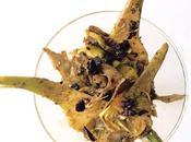 Insalata carciofi olive timo