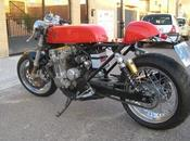 Honda seven fifty cafe racer