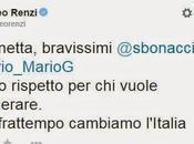 Chiacchiere diversivo: breve missiva Matteo Renzi
