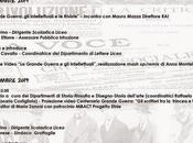 Direttore Mauro Mazza presenta Papini convegno sulla Grande Guerra Grottaglie