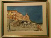 bastioni Cagliari Alghero: acquarelli Franz