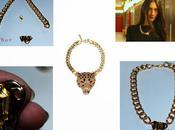 create fashion necklace inspired Roberto Cavalli!