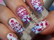Christmas Manicure With CiciandSisi Merry Plate