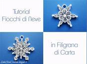 Fiocchi Neve Filigrana Carta Quilling)