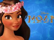 prima immagine Moana della Disney