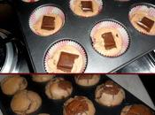 Muffin cuore cioccolatoso